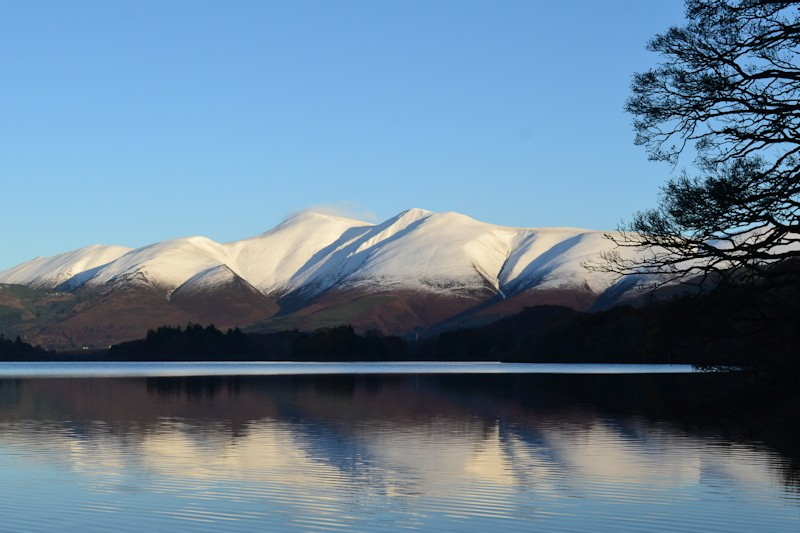 Skiddaw In Winter