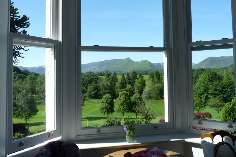 Panoramic view from bedroom 1